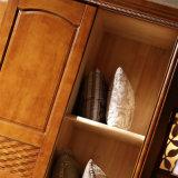 تصميم حديثة غرفة نوم أثاث لازم قماش خزانة ثوب ([غسب9-017])