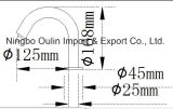 Bomba infrarroja de la loción de la detección de Touchless del sensor de Oulin del dispensador automático del jabón, 1L