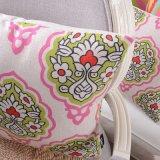 Ammortizzatore di tela del cuscino di manovella del cotone di lusso comodo di tela quadrato del cotone
