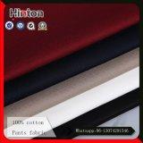 Хлопко-бумажная ткань 100% высокого качества для кальсон 240GSM