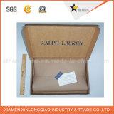 Cmykの印刷によって薄板にされる包装の紙箱