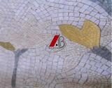 De de marmeren Tegels en Patronen van het Mozaïek