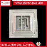 Diffusori di alluminio quadrati del soffitto del condizionamento d'aria 4-Way