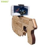 Новые игры стрельба Ar-Пушки 3D Bluetooth радетель для телефонов Samsung iPhone франтовских