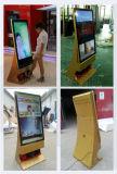 Hotel LCD, welches die Bildschirmanzeige/Schuh glänzt bekanntmacht, Spieler, DigitalSignage bekanntmachend