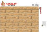 azulejos de suelo de cerámica esmaltados de madera del material de construcción de la inyección de tinta de 150X600m m (15601)