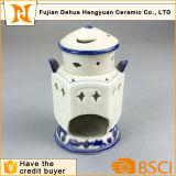 Bruciatore di incenso di ceramica di disegno islamico di stile per la decorazione domestica