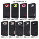 Противоударная из углеродного волокна для телефона Samsung Galaxy примечание 5