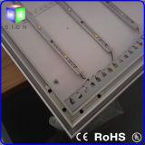 El metro Publicidad Perfil de extrusión de aluminio Caja de luz LED
