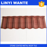 Azulejo de telhado revestido de pedra colorida vendido quente