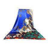 Sciarpa quadrata multicolore del raso 90*90cm della seta di 100% grande