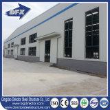 Edificio de almacenaje de acero de la bóveda del taller de la fábrica de la azotea plana del bajo costo