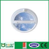 Janela circular de alumínio de vidro único com certificado CE