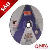 100*3*16 discos abrasivos de corte de metal pulido con la certificación de la MPa