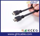 Cavo ad alta velocità di CCS 3m HDMI con le memorie dell'anello (D008)