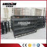 Shizhan 300*300mmの黒い正方形アルミニウムボルトまたはねじトラス
