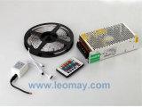 24 tiras dominantes de la fuente de alimentación de Controller+12V +5M 5050 RGB 300LEDs LED con la UL del CE