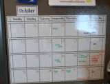 Дешевое изготовленный на заказ высокое качество DIY сушит календары холодильника Erase ежемесячные магнитные