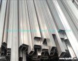 Quadrato e tubo saldato rettangolo dell'acciaio inossidabile