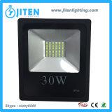 LED de luz al aire libre 30W SMD LED de la inundación el espacio integrado Luz
