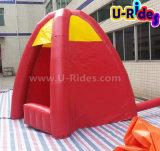 Tenda gonfiabile rossa della cabina per la promozione