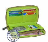 По-разному цветастый Durable 100% гарантии качества бумажника застежки -молнии волокна углерода