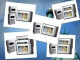 """7 """" Kleur 4 Deurbel van de Telefoon van de Deur van de Intercom van de Hand van de Draad de Vrije Video"""