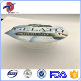 Gestempelschnittene Stück-Aluminiumfolie-Schutzkappe für Kuchen-Cup