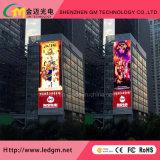 Fornitore professionale della visualizzazione di LED, colore completo esterno P10mm che fa pubblicità allo schermo