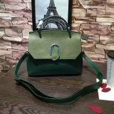 De nieuwe Handtassen kleur-Collsion van het Leer van het Ontwerp Echte Dame Shoulder Bag China Leverancier Emg4948