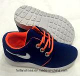 Lo svago dei pattini correnti dell'iniezione dei bambini di modo calza i pattini della scarpa da tennis (FF924-2)