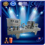 Hoge snelheid 4 Hoofd Automatische het Vullen van de Capsule van de Koffie Verzegelende Machine