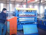 Três camadas do rolo frio da chapa de aço que dá forma à maquinaria
