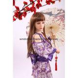 金属の骨組を搭載する甘い日本愛人形