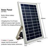 15W 500lm 태양 LED 플러드 빛 옥외 투광램프