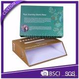 Kundenspezifischer Firmenzeichen-Papppapier-Schuh-verpackenkasten-Großverkauf
