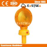 Amarelo e Vermelho LED Piscando Barricade Semáforo
