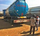 Производитель напрямую поставлять топливо, СНГ и СПГ, асфальт, битума Полуприцепе танкер