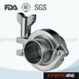 Корпус из нержавеющей стали санитарных 14СПП с обжимным кольцом фитинги трубы (Ин-FL5007)
