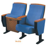 Мебель домашнего театра популярной удобной голубой ткани самомоднейшая