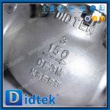 Didtek ANSI CF3m BS1873 주철강 일어나는 줄기는 산업 지구 벨브를 잠궜다