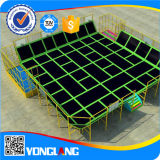 子供の演劇の中心のトランポリンの屋外の運動場装置(YL-BC004)