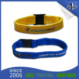 Heißes Verkauf2017 Gewebe gesponnener Wristband mit RFID Marke