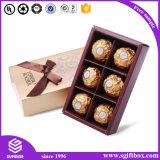 Corte a Laser Design de papel caixa de doces de chocolate de casamento