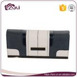 Конструкции бумажника женщин типа бумажника логоса тавра фабрики бумажник PU изготовленный на заказ длинней хорошей кожаный для повелительницы