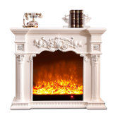 Elecreic Hearth Solid Wooden Fireplace Mantel Decor (GSP15-005)