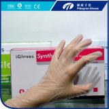 Fatto nei guanti a gettare del vinile dell'esame della polvere di prezzi competitivi della Cina