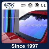 Azul a la película cambiante del tinte del camaleón de la ventana de coche del color púrpura