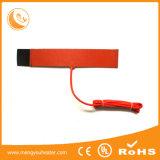 Ausführungsplan Slicone flexible heiße Gummiplatte für Batterie-Heizung