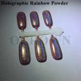 Holo espejo cromado láser holográfico de pigmento en polvo para Nail Art